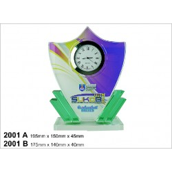 Crystal Clock Series 2001