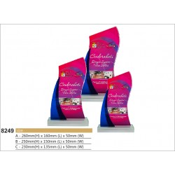 Color Crystal Award 8249