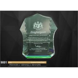 2D & 3D Inner Laser Awards 9001