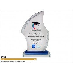 UV-LED Emboss Printing Awards 3058