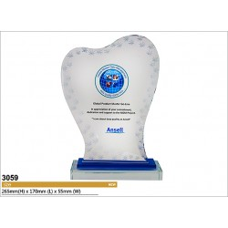 UV-LED Emboss Printing Awards 3059