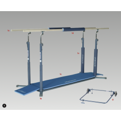 Parallel Bars - Olympic - Superwood Rails